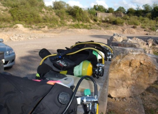 Checklist for Open Water Dives