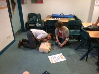 AED (defibrillator) refresher training